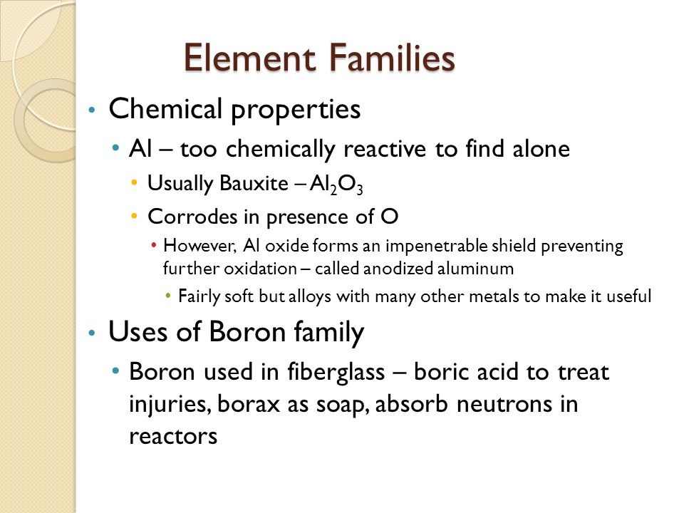 Chemical Properties For Mercury Element