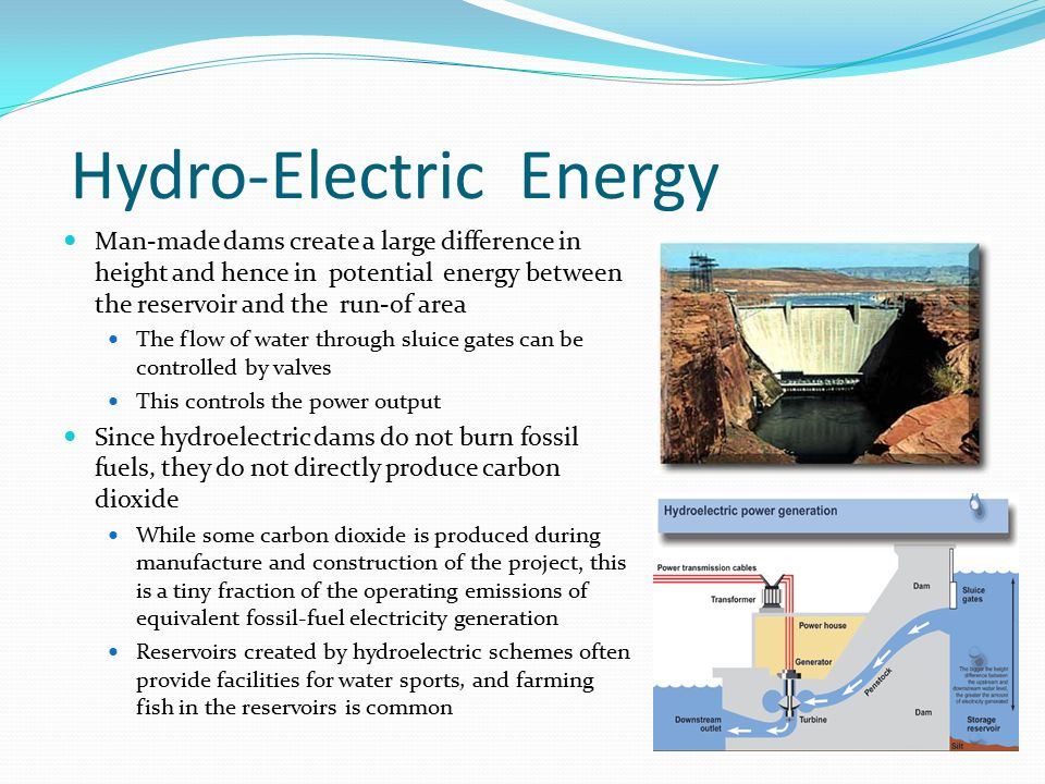 Hydro-Electric Energy