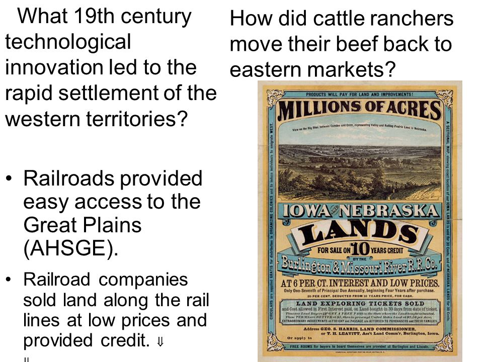 How did cattle ranchers move their beef back to eastern markets