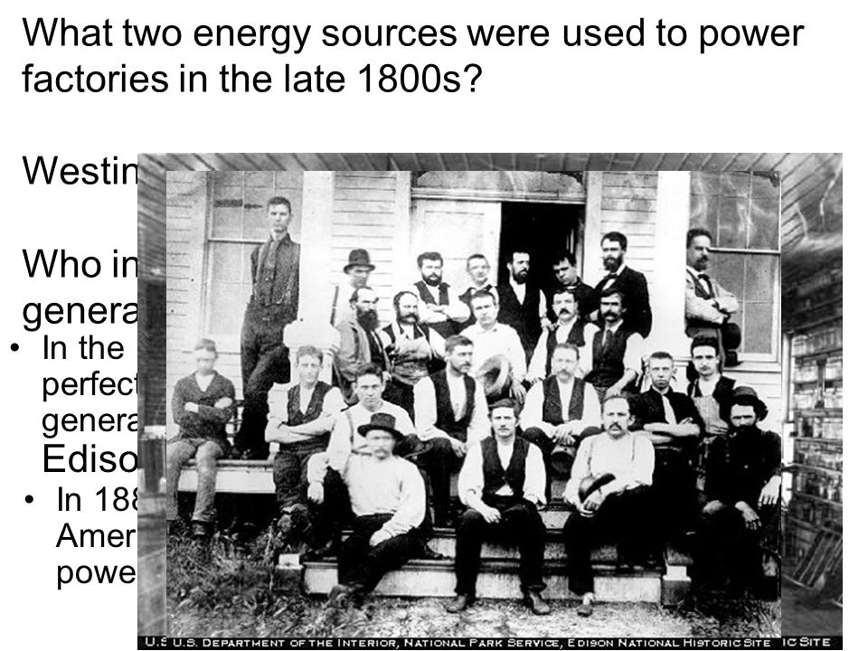 Westinghouse and Alternating currents