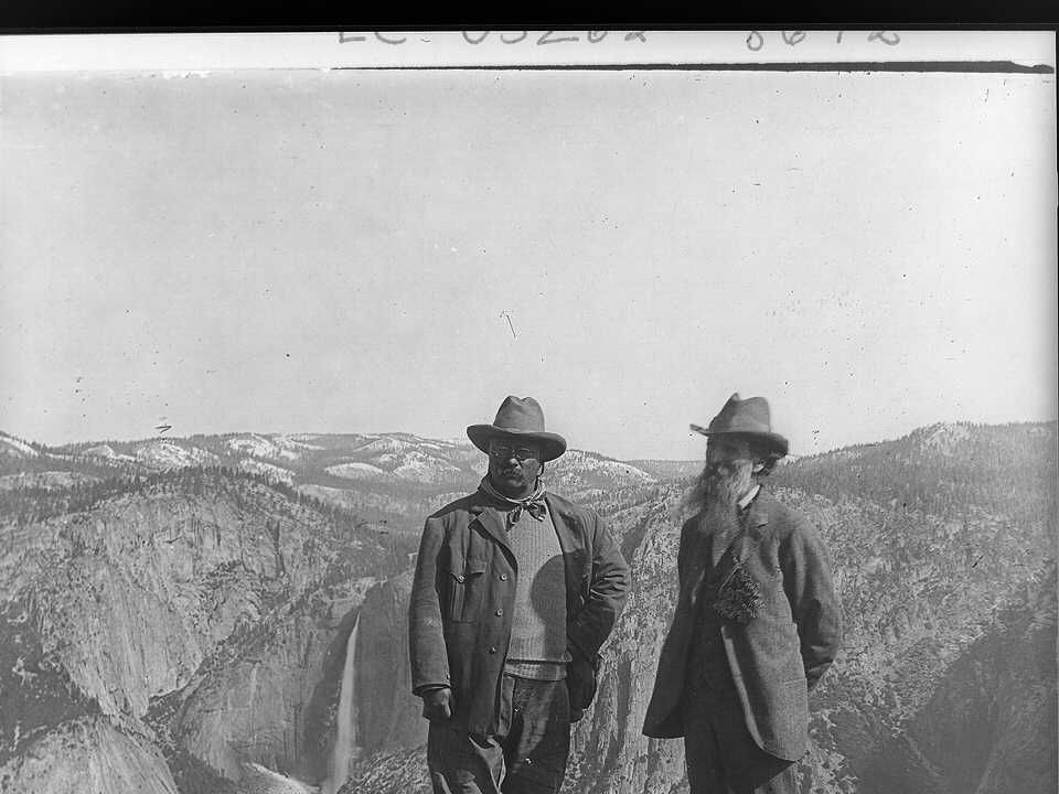 Visits Yellowstone National Park with John Burroughs 1902