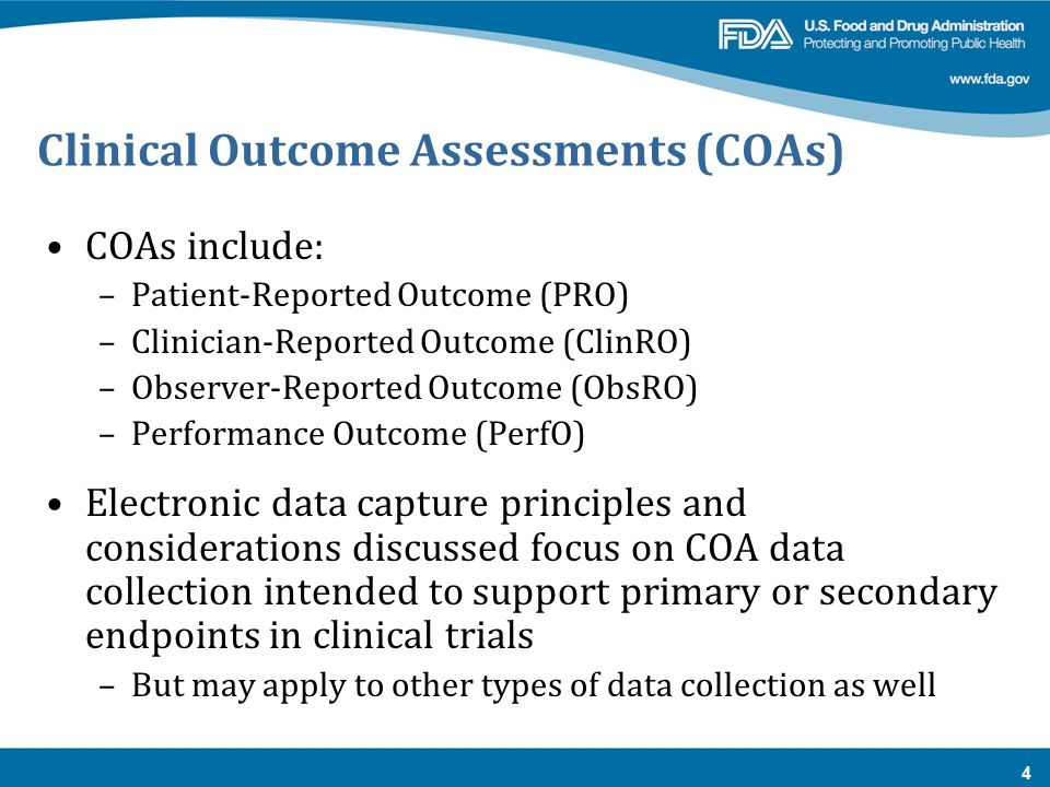 A Regulatory Perspective On Electronic Data Capture Ppt