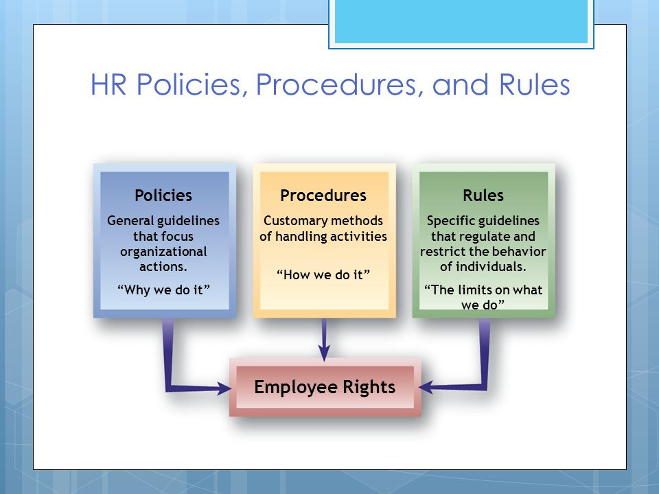 the importance of personnel and organization policies Personnel policies are of the utmost importance to keep the organization running smoothly and the morale of the workers high what are personnel policies personnel policies define the treatment, rights, obligations, and relations of people in an organization.
