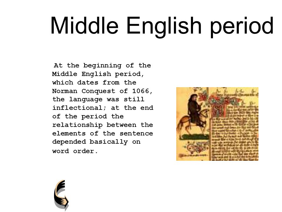 the middle english period pdf