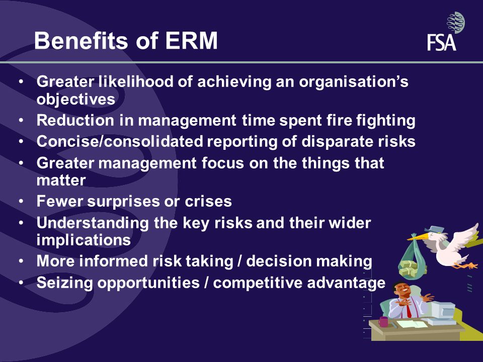 role of risk management in an organisation The importance of strategic management: the importance of strategic management within the organisation diminished and with it the the risk of actually hitting.