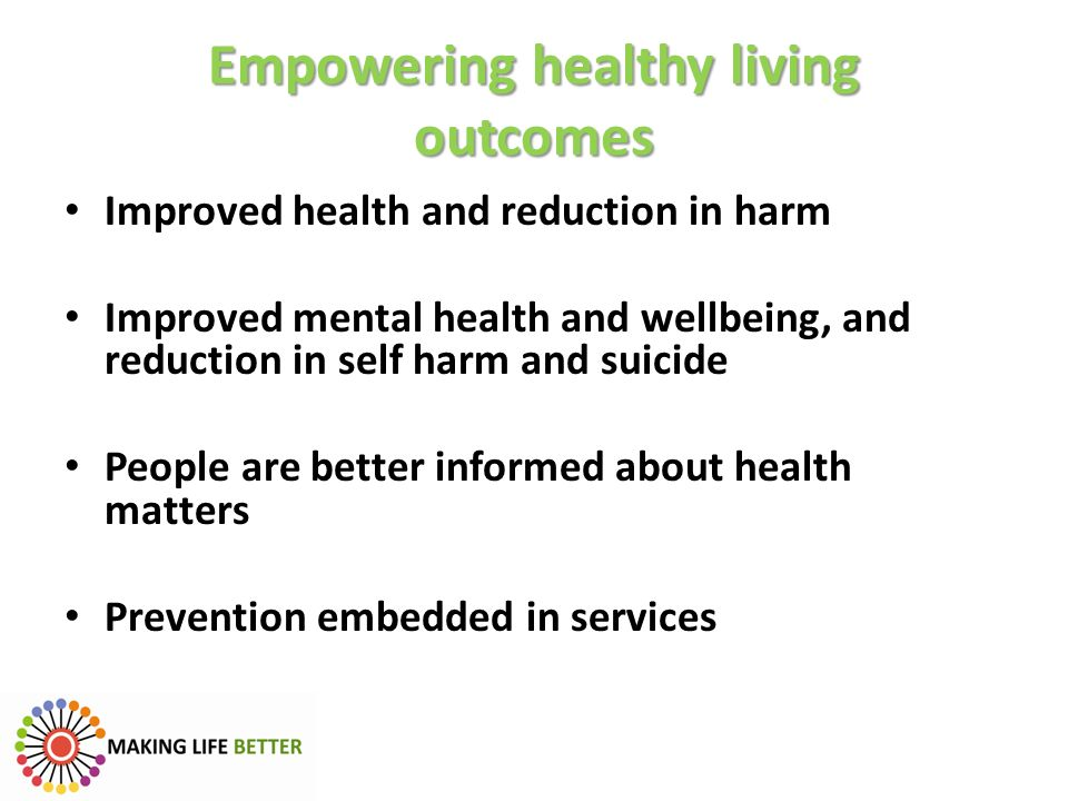 Empowering healthy living outcomes