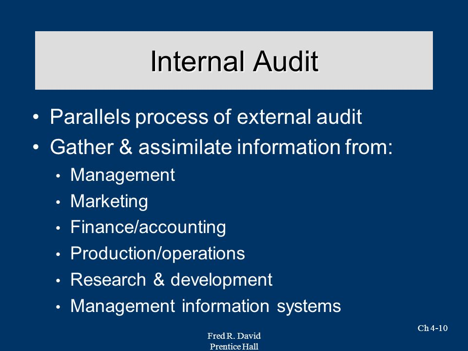 auditing chapter 4