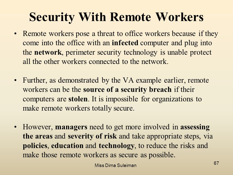 enabling a remote workforce essay Find out what the term remote access means, plus remote access refers to workers being able to access data or resources from a remote location traditional remote access solutions used dial-up technologies to allow remote access solutions may also enable users to control the.