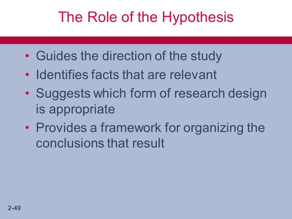 advanced hypothesis paper The american heritage dictionary defines a hypothesis as, a tentative  explanation for an observation, phenomenon, or scientific problem that can be  tested by.