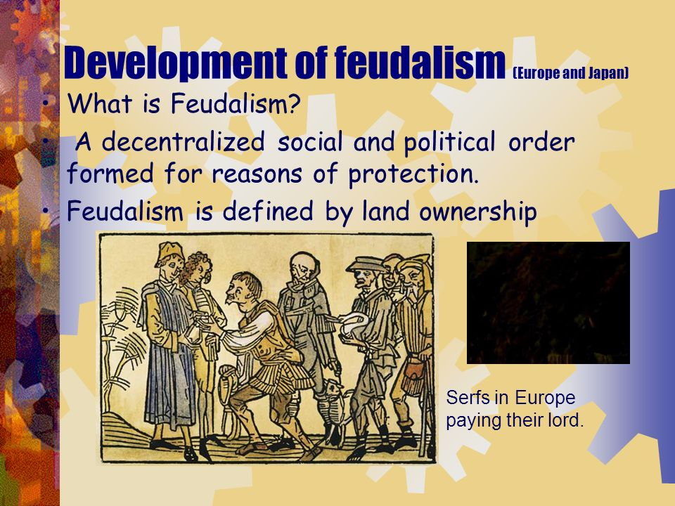 comparing japanese and western european feudalism Dominant social system in medieval europe - compare and contrast feudalism practices of feudalism between japan and western europe to compare and contrast.