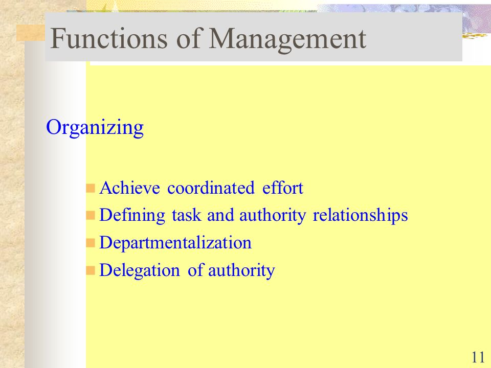 tasks and functions of management Basics of everyday planning and tasks management 10 basic tips for tasks management and creation of and perform other useful functions prioritize tasks:.