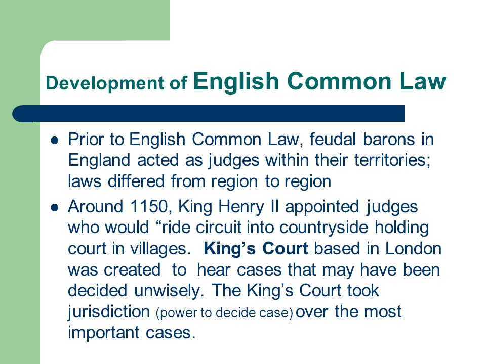 common law 4 essay Excerpt reproduced from american legal they are summarized below in order to give the reader an overview of some of the basics of american common law 1 4.