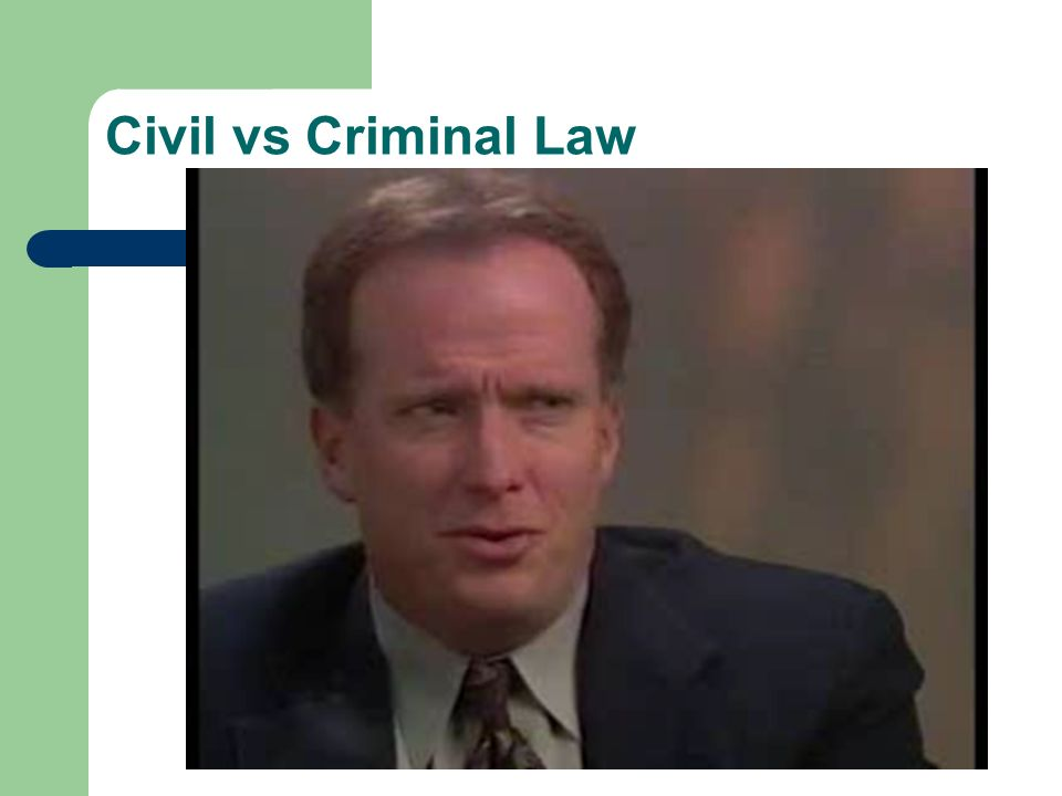 "civil law v criminal law One of the most general classifications divides law into civil and criminal a basic definition of civil law is ""the body of law 12 criminal law and criminal."