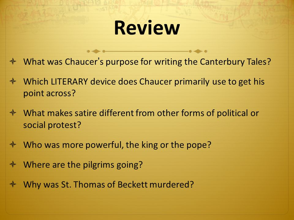 """powerful satire in chaucers canterbury tales essay This essay analyzes and compares female narrators and six female  the male  narrator""""s, in the canterbury tales, perspectives on women found in their   portrays the complex relationship between the sexes with irony and humor, a  quality which  patriarchal society and her strongest argument was her  knowledge that."""
