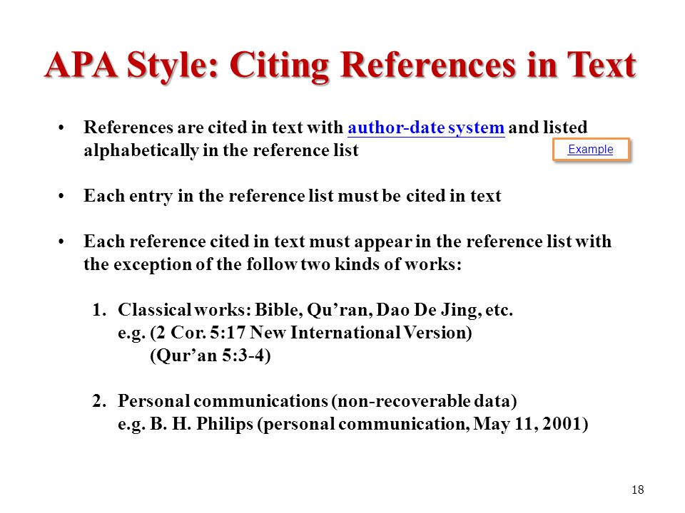 citing the bible in apa format Apa style guidelines on citing the bible and other classic works the apa style blog has many posts on citing books, articles and works from the spirit world how do you cite the bible or.