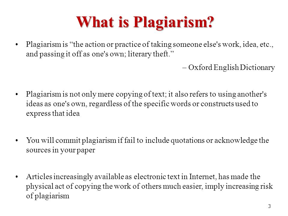 what is plagerism Plagiarism is a form of cheating because it's stealing another person's ideas but there's a right way to use internet sources and other references when you're doing.
