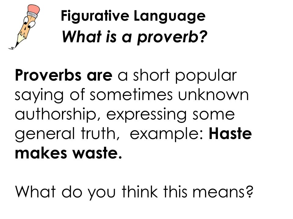 Proverbs figurative language in lesson 42 you will ppt for What does diction mean