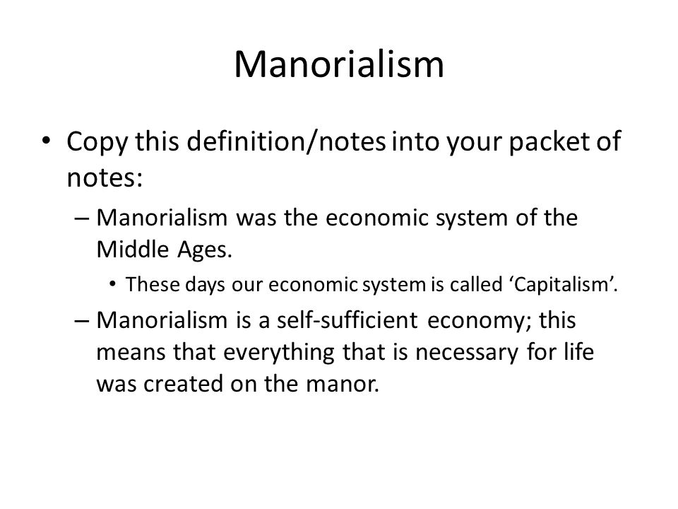 Feudalism Pyramid of Power Manoralism - ppt video online ...