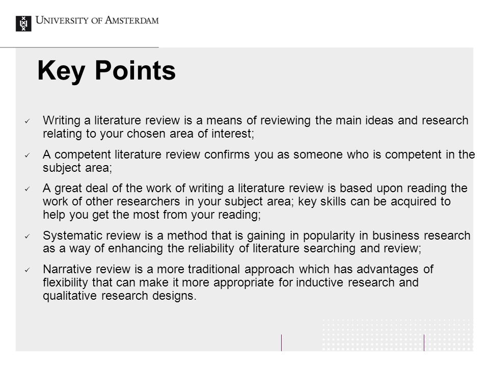 Custom academic writing key points