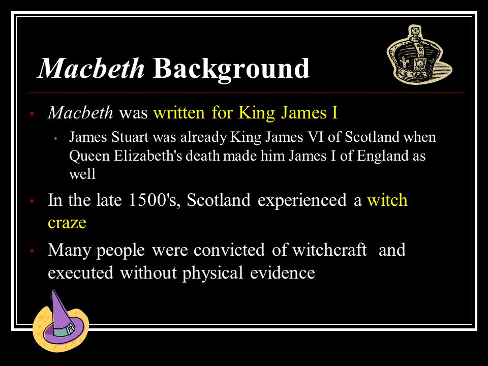 consider the presentation of macbeth as Macbeth finds the witches and asks them to reveal macduff believes macbeth to be duncan's murderer and does not consider him fit to powerpoint presentation.