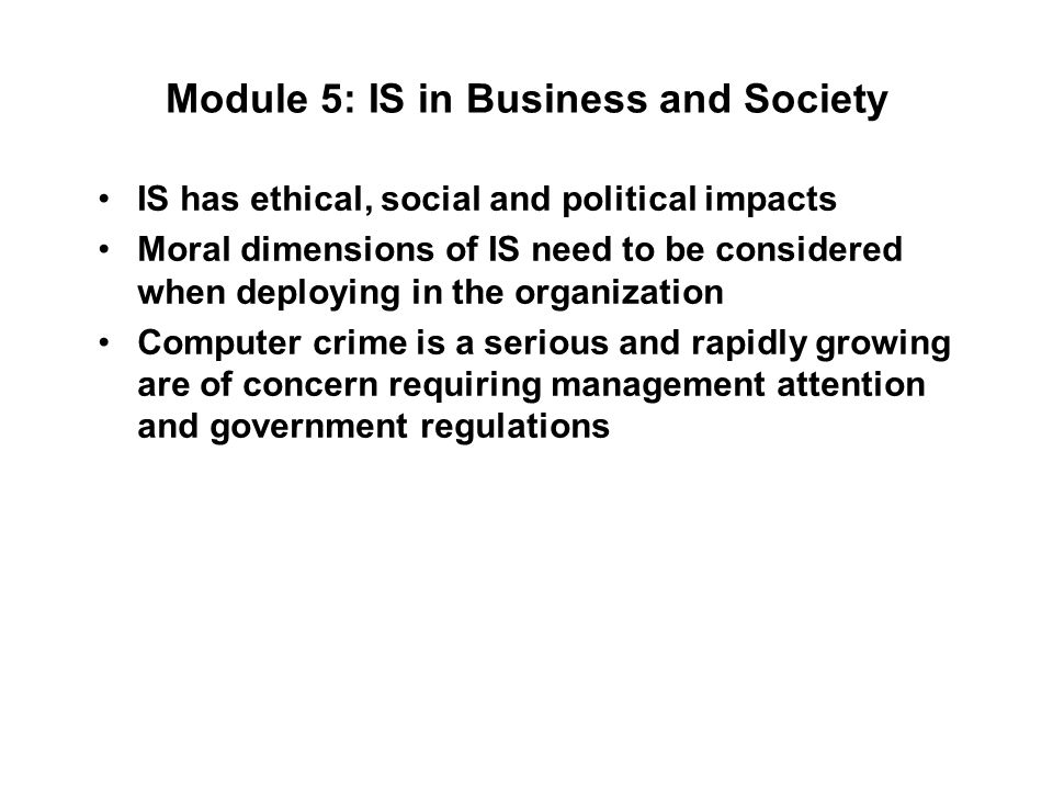 business and society 5 Global trends for business and society from university of pennsylvania in this course, you'll learn to analyze rapidly changing global trends, their effects on consumer and labor markets, financial systems, and geopolitical relationships among.