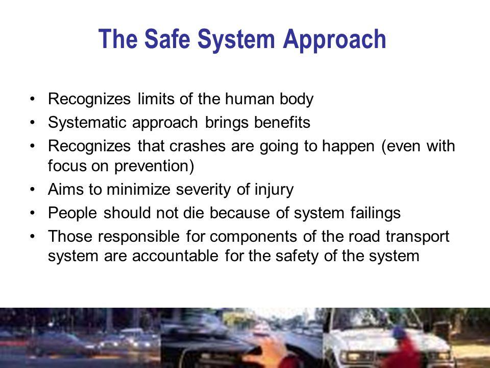 The Safe System Approach
