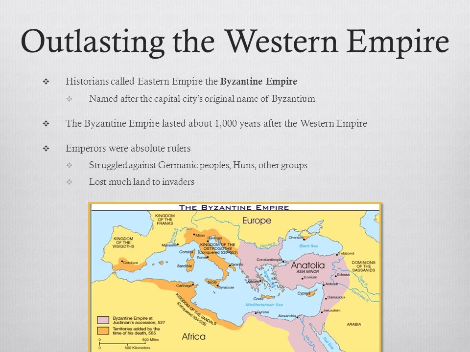 Outlasting the Western Empire