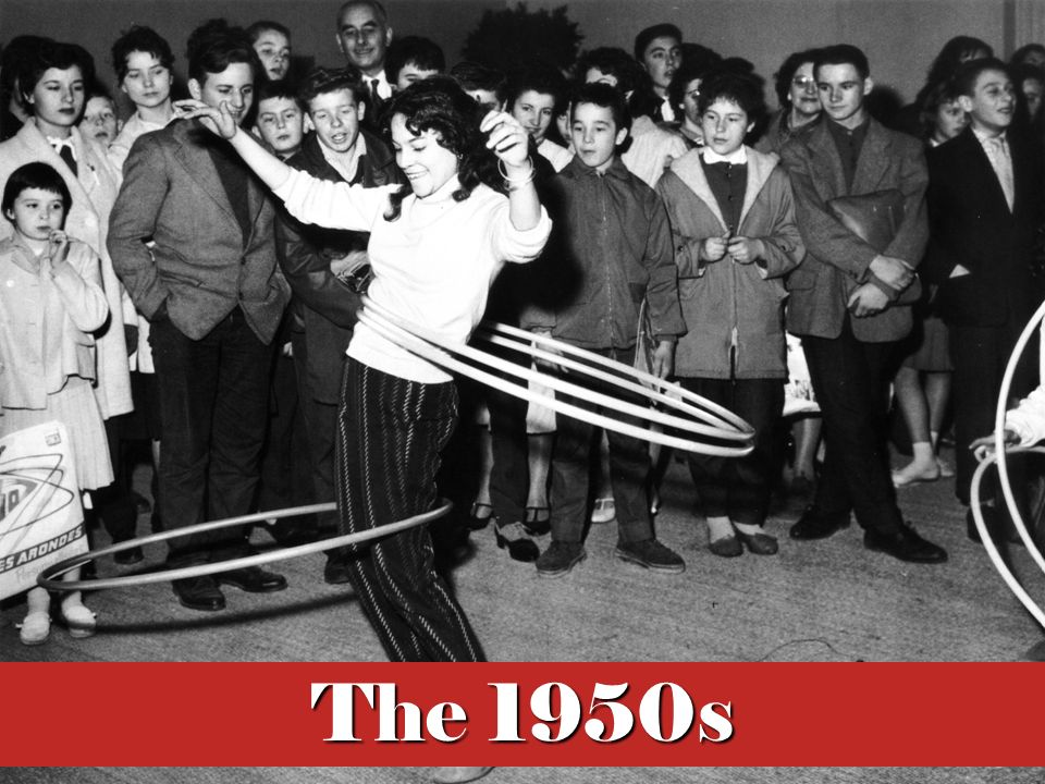 Many today associate the 1950s with the birth of rock 'n' roll, hula hoops and coonskin caps, and perfect television families. However, the decade proved much more complex than its apparent superficiality might imply.