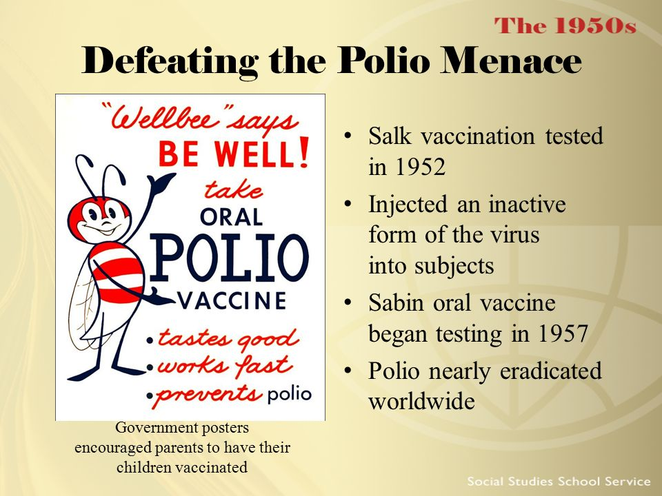 Defeating the Polio Menace