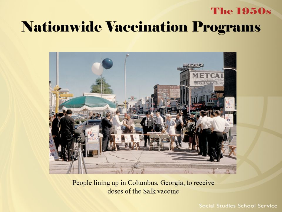 Nationwide Vaccination Programs