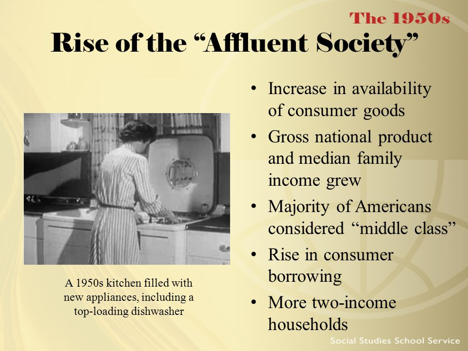 Rise of the Affluent Society