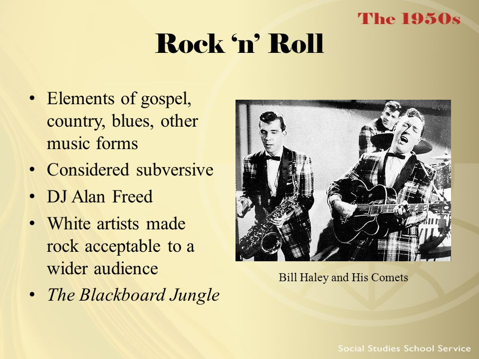 Bill Haley and His Comets