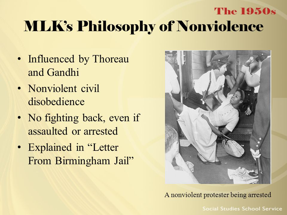 MLK's Philosophy of Nonviolence