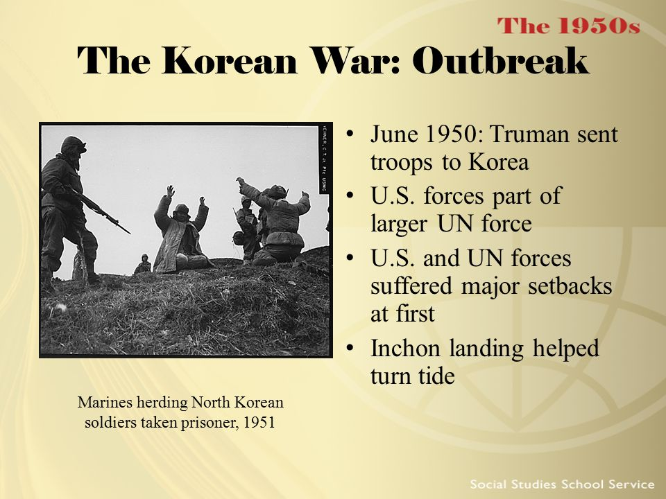 The Korean War: Outbreak