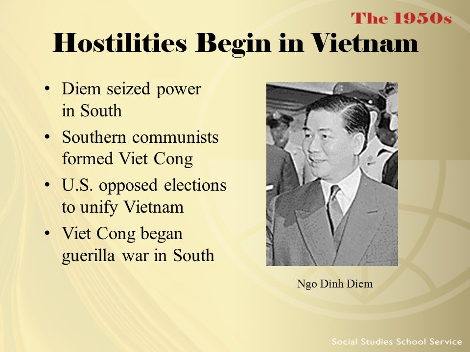 Hostilities Begin in Vietnam