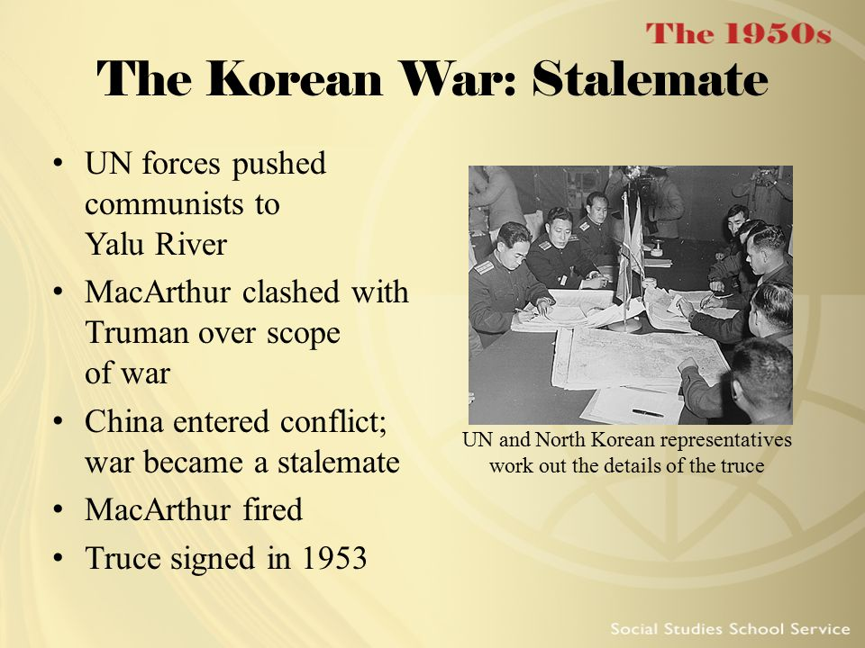 The Korean War: Stalemate