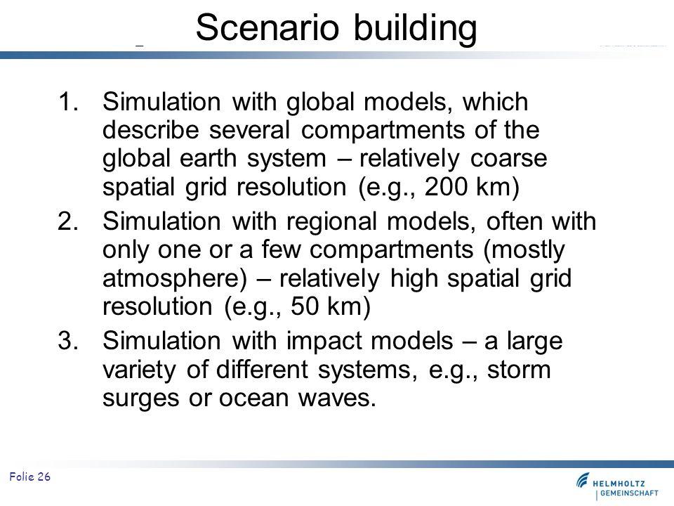 Scenario building