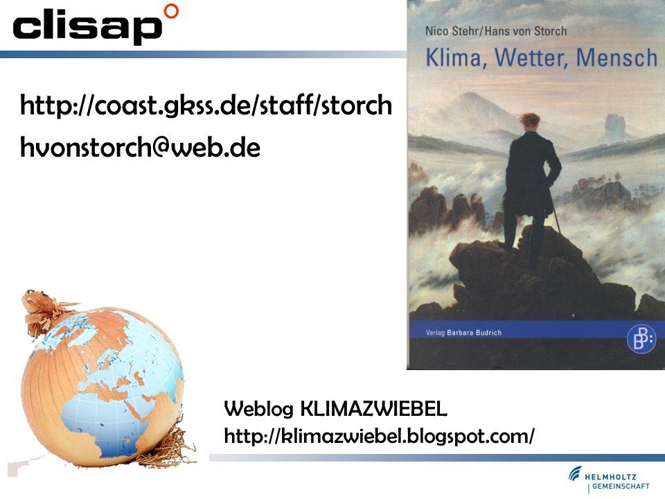 http://coast.gkss.de/staff/storch hvonstorch@web.de