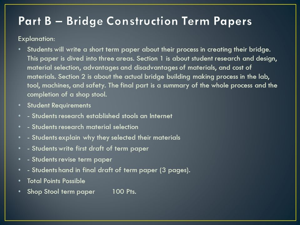 bridge construction research paper Weather vane to [earn about air , a paper bridge and bir ds to demonstrate balance,  school notebook paper , to lar ge construction paper , artist' s paper , and.