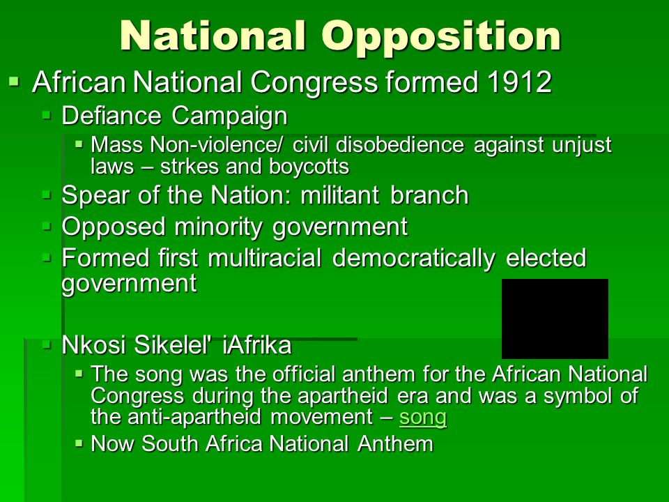 african national congress south africas national Africa's oldest liberation struggle movement and south africa's ruling party, the  african national congress, turned 100 years old on 8 january,.