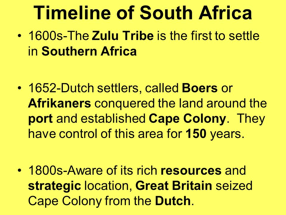 History of slavery and early colonisation in South Africa
