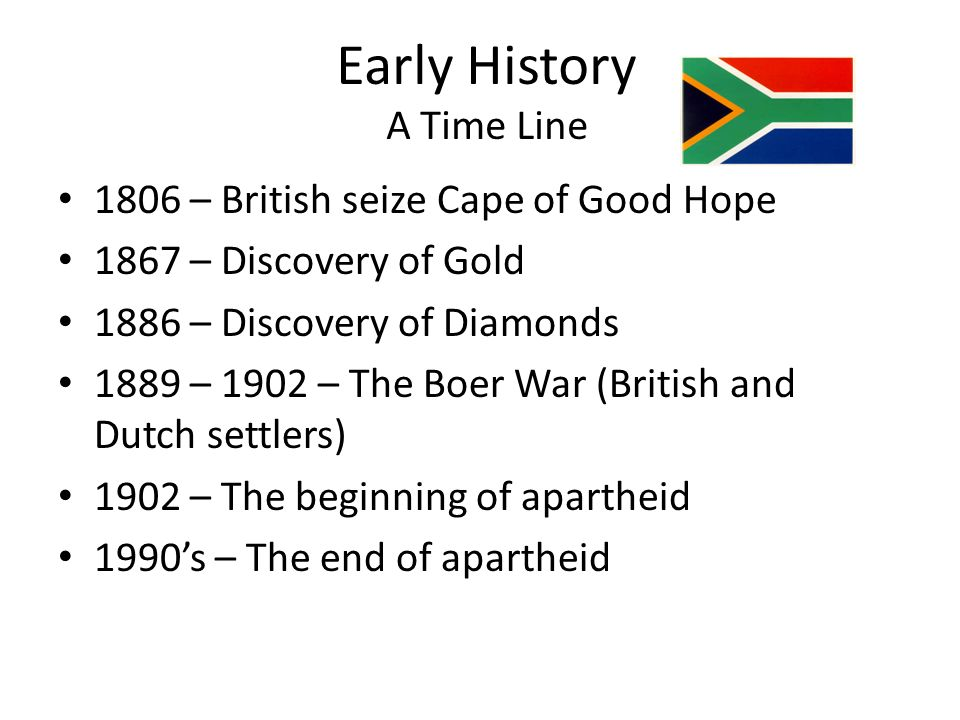 discovery of diamonds and gold in south africa Discovery of gold and diamonds in the 1870s accelerated the british economic control over the national economy of south africa the production of diamonds was solely controlled by the de beers consolidated mines company, which was in the charge of an english immigrant, cecil rhodes until 1930s.