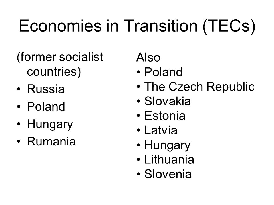poland economic transition Poland has maintained economic growth despite the global financial  poland's  transition to a capitalist system was spearheaded by then.
