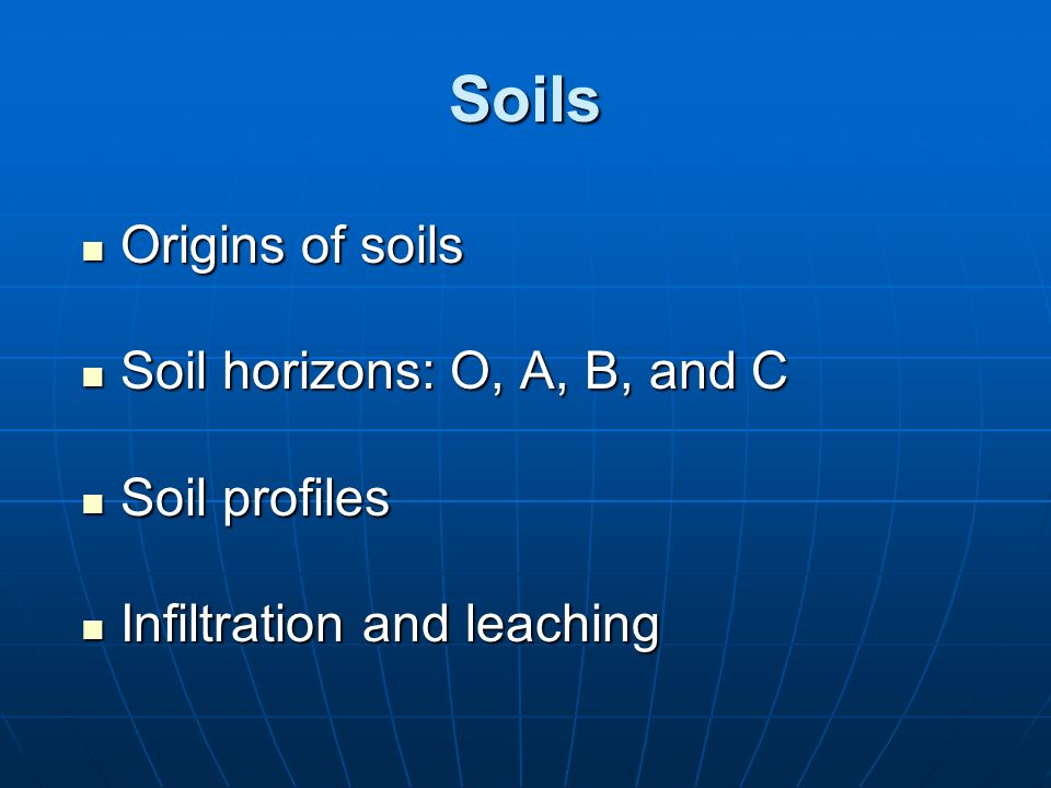 Ecosystems what are they and how do they work ppt for Origin of soil