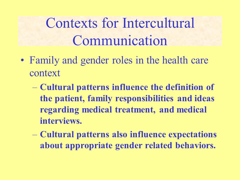 an overview of the communication roles in the family Factors affecting the nurse-patients' family communication in intensive care unit of kerman: a qualitative study  this concept showed the role of .