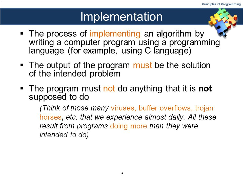 How to write algorithms in c language