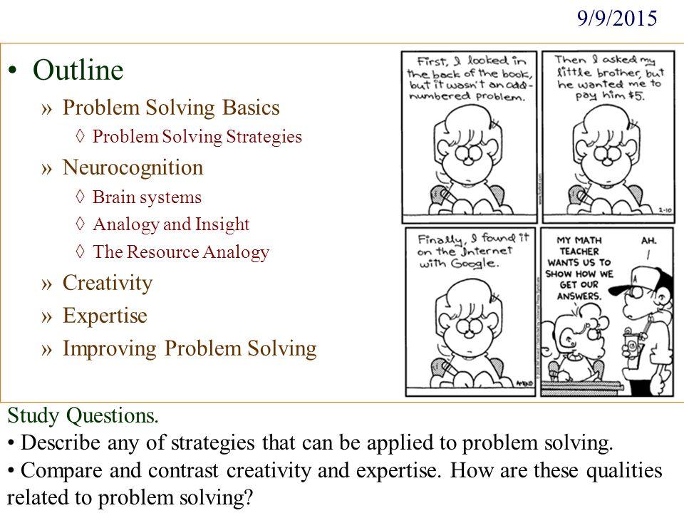 How Do You Problem Solve