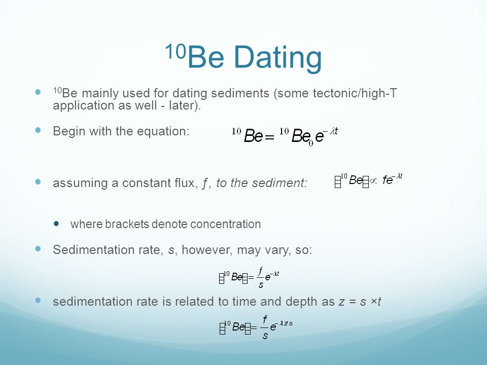 dating method in anthropology