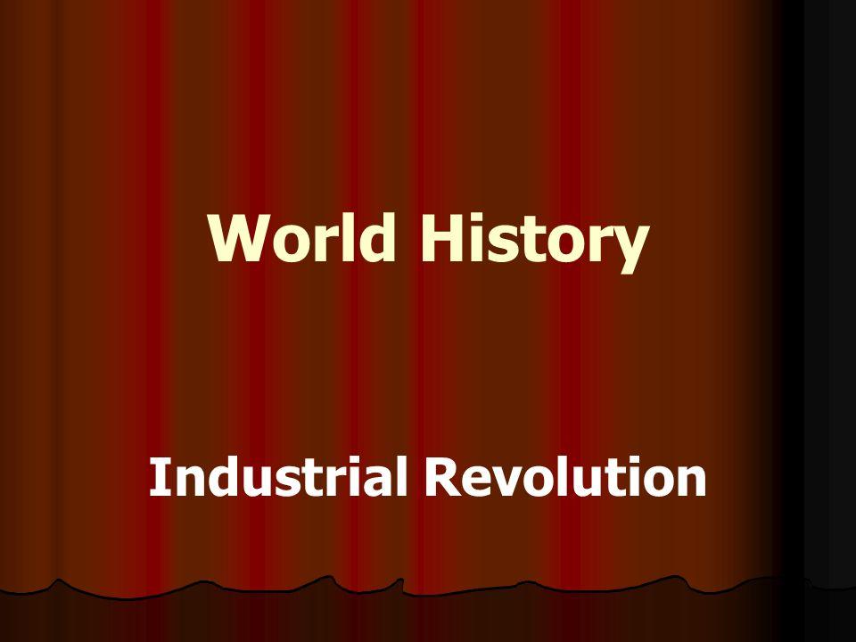 industrial revolution in world history pdf