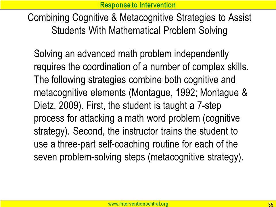 RTI: Mathematics Interventions Jim Wright - ppt download